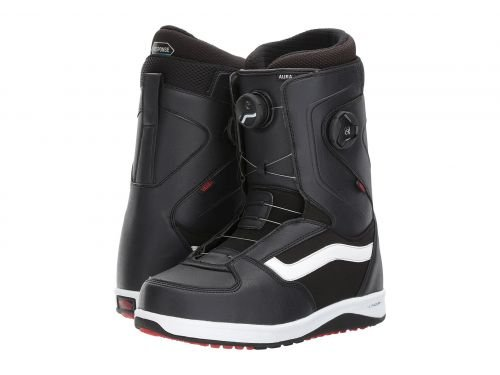 Vans(バンズ) メンズ 男性用 シューズ 靴 ブーツ ハイキングブーツ Aura Black/White/Red [並行輸入品] B07BLQXHBF 8.5 D Medium