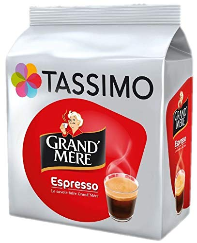 Tassimo Grand Mere Espresso Coffee Pods T-Discs, 1 Pack (16 drinks)
