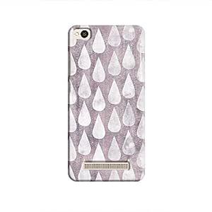 Cover It Up - Raindrops Print Violet Redmi 4A Hard Case