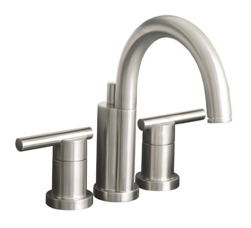 Premier 120332LF Essen Lead-Free Mini-Widespread Lavatory Faucet, PVD Brushed (Mini Widespread Sink Faucets)