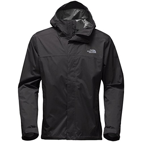 The North Face Men's Venture 2 Jacket - Tall - TNF Black & TNF Black - L