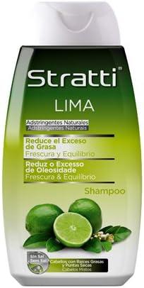 Stratti Lima - Champú Frescura y Equilibrio con Keratina, sin Sal - 400 ml