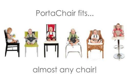 Amazon.com  BambinOz Porta Chair Travel High Chair Black u0026 White Damask  Baby  sc 1 st  Amazon.com & Amazon.com : BambinOz Porta Chair Travel High Chair Black u0026 White ...