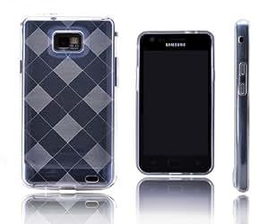 Chess TableroY Xcessor carcasa Flexible de TPU para Samsung Galaxy S2 i9100/S2 Plus i9105 - Lote de protectores de