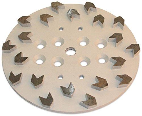 Blastrac CG-1020ASEG Concrete Turbo Premium Arrow 20 Seg Diamond Disk, 10''