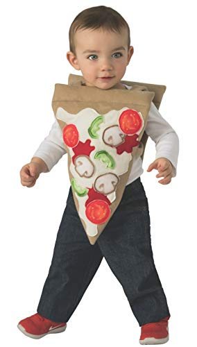 Rubie's Kids' Toddler Opus Collection Lil Cuties Pizza Costume Tabard, As Shown