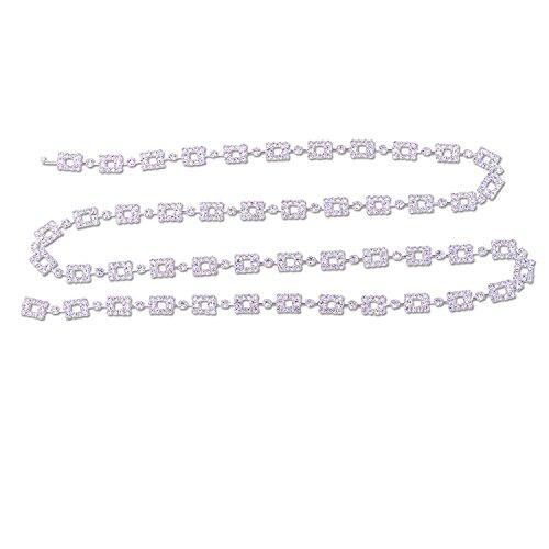 "Topwholesalejewel Silver 42"" R"