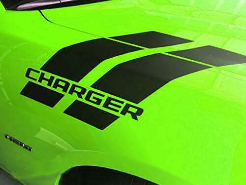 CHARGER Hash Stripes for Dodge Charger Mopar 392 Hemi 2014 2015 2016 2017 for hood fender (MULTI-COLOR)
