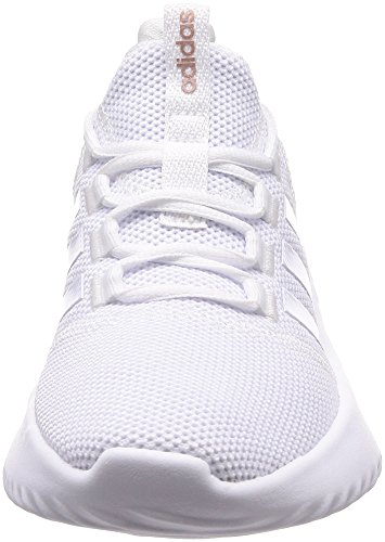 adidas Cloudfoam Ultimate, Sneakers Basses Femme Blanc Cassé (Ftwr White/ftwr White/grey Three F17 Ftwr White/ftwr White/grey Three F17)