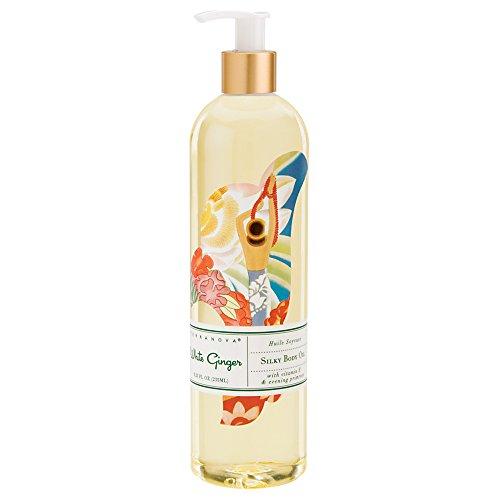 Terranova White Ginger Silky Body Oil 8.25 fl oz Bottle