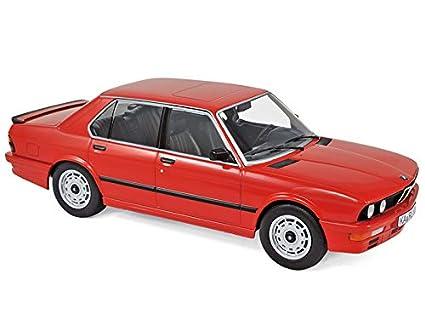 Bmw m535i 1986 rojo 1:18 norev