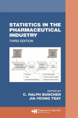 Statistics In the Pharmaceutical Industry, 3rd Edition (Chapman & Hall/CRC Biostatistics Series)
