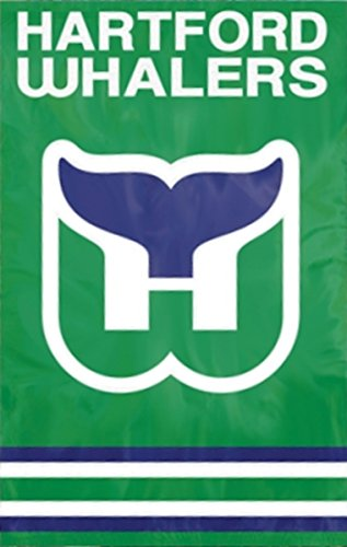 - Party Animal Sports Team Logo Hartford Whalers Applique Banner Flag