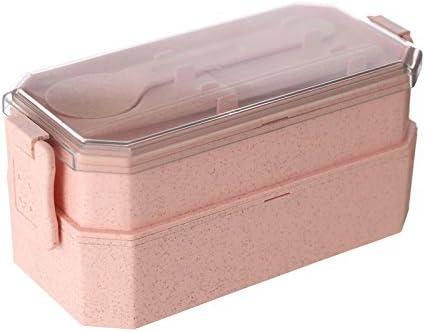 Caja de Lunch en paja de trigo – Caja de Bento – Tartera panera ...