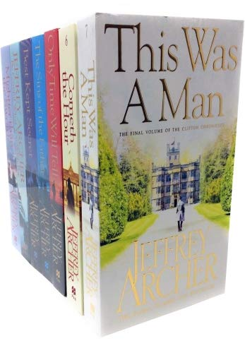 The Clifton Chronicles Series Jeffrey Archer Collection 7 Books Set ( Only Time Will Tell, Best Kept Secret, The Sins of the Father, Cometh the Hour, Mightier than the Sword, Be Careful What You Wish (Jeffrey Archer Clifton Chronicles Mightier Than The Sword)