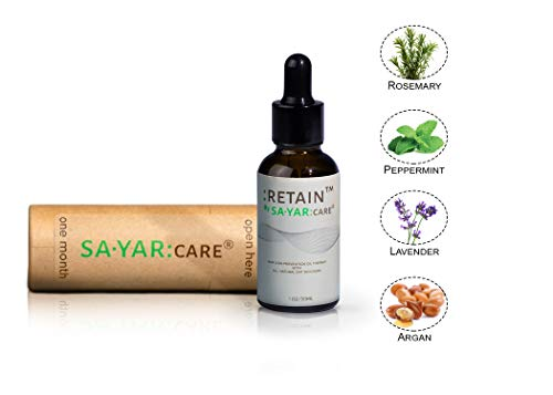 Sayar Care: Hair Loss Therapy (Men/Women All Hair Types) - 100% All Natural Ingredients - Hair Growth Formula - Prevent Hair Thinning - Clinically Tested Ingredients - Balding & Hair Loss Supplement (Best Ingredients For Hair Growth)