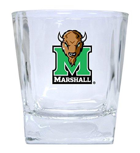Marshall Thundering Herd Short Glass Tumbler Set of 2