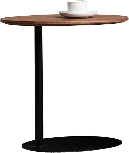 Mesa Auxiliar Escritorio de Mesa de café pequeño Sofá Oval De ...