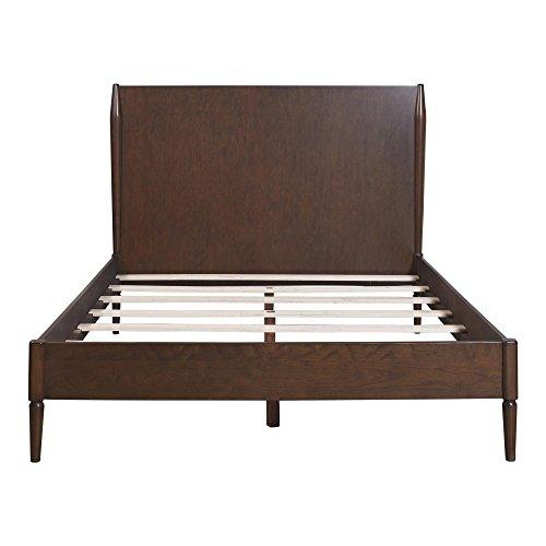 Dorel Living Brook Lane Bed, Queen, Walnut