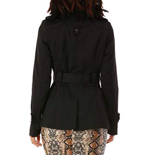 Negro La Modeuse Mujer Para Abrigo TxBvwqp6