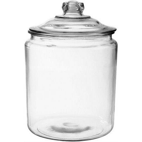 Anchor Hocking 69372t12 2 Gallon Heritage Hill Jar & Cover, Clear