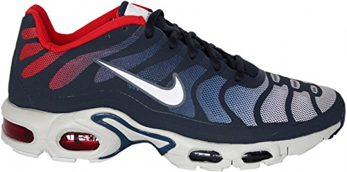 2c7c907120 nike air max plus fuse TN tuned hyperfuse mens trainers 483553 sneakers  shoes (uk 7.5 us 8.5 eu 42, midnight navy white university red 416) - Buy  Online in ...