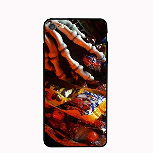 (Halloween Candy Hand Skeleton iPhone 7/8 Case Anti-Finger Print PC cellpnone Case for 4.7)