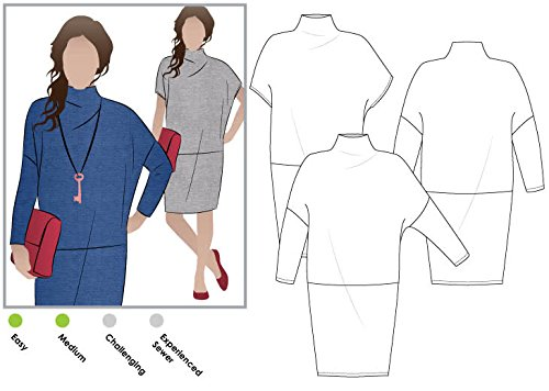 Style Arc Sewing Pattern - Cher Knit Dress (Sizes 04-16) - Click for Other Sizes ()