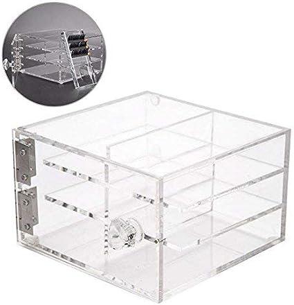Caja de almacenamiento de pestañas de 6 capas, Caja de ...
