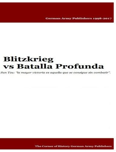 Libro : Blitzkrieg vs Batalla Profunda  - Mr Gustavo Urue...