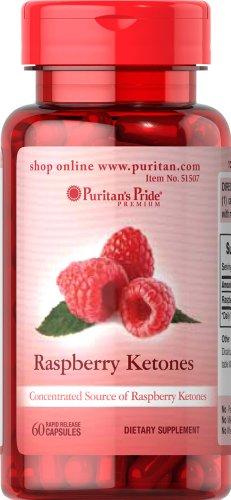 Puritan's Pride Raspberry Ketones 100 Mg 60 Capsules