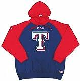 Stitches MLB Texas Rangers Men's Big Logo Pullover Hood