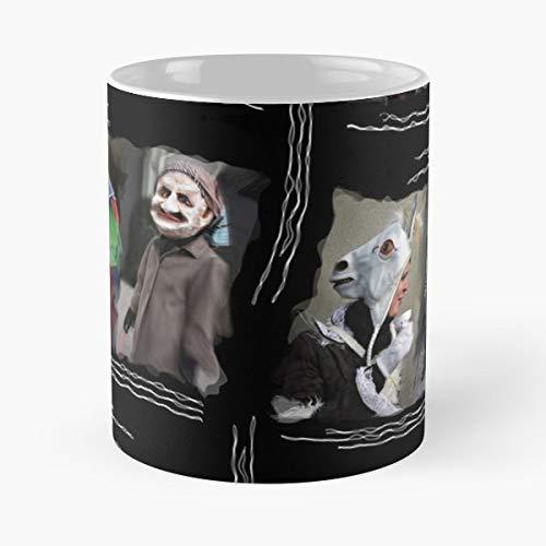 Swiss Drama Carnival Actors - Handmade Funny 11oz Mug Best Holidays Gifts For Men Women Friends.