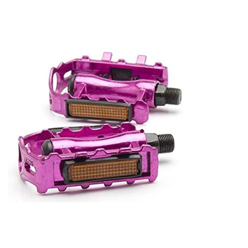 SXCXYG Fiets Pedalen 1 Paar Fiets Pedalen MTB Fiets Deel Pedaal Fietsen Aluminium Ultra-Licht Holle Platte Kooi Pedalen…