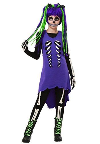 Fun C (Green Skeleton Costumes)