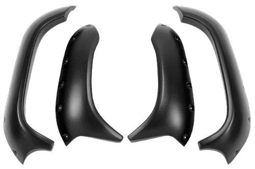 Maier USA Mfg Fender Flares - Textured Black , Color: Black