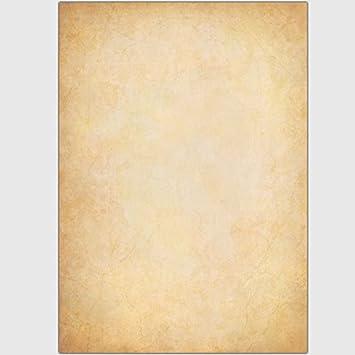 Papyrus 50 Blatt DIN A5 Pergament 90 g-Offsetpapier glatte Struktur