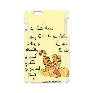 iPhone6 Warm Pattern Winnie The Pooh and Tigger Case Cover for iPhone6 4.7 3D (Laser Technology)