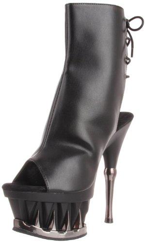 Platforms Lace Pleaser - Pleaser Women's SPIKY 1018 Lace Open Toe Platform Boots