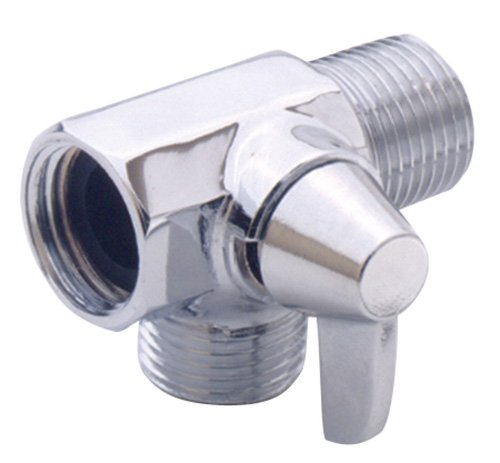 Alsons 4922PK Shower Arm Diverter, Chrome By Alsons