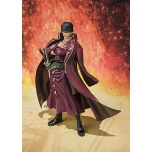 Bandai Figuarts ZERO soul web limited one-piece film Z battle clothes ver. Set Zorro Robin Brooke
