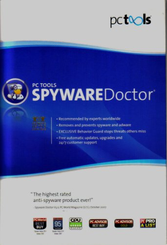 PC Tools Spyware Doctor Version 6 (Up to 3 computers)