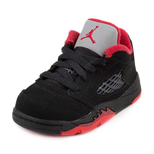 "Nike Baby Boys Jordan 5 Retro Low (TD) ""Alternate"" Black/..."