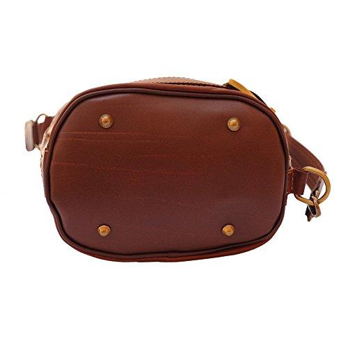 porté à main femme au marron marron SilberDream dos pour Sac wHZqn5pt