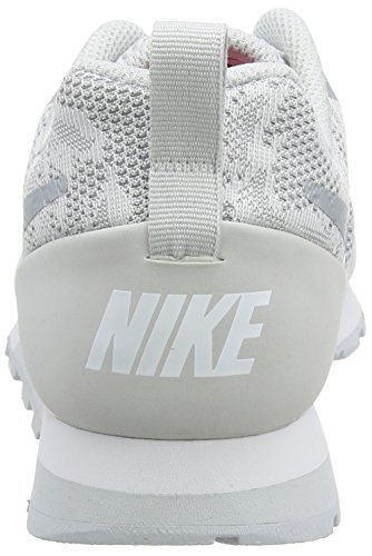 Loup 2 NIKE MD Gris Donna Blanc Sneaker Runner Pur Bianco Wmns Platine Br 11Fzwa