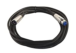 Your Cable Store 15 Foot XLR 3 Pin Male / Female Microphone Cable
