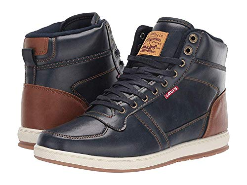 Levi's¿ Shoes Men's Stanton Brunish Navy/Tan 13 M US