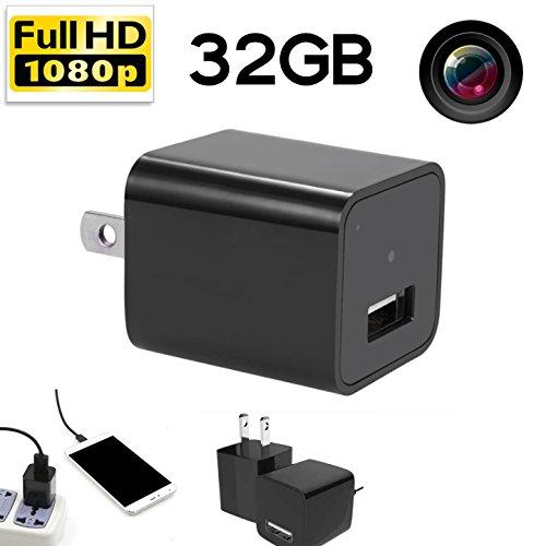 Updated Hidden Spy Camera Hd 1080p 32gb Internal Memory