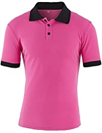 Summer Men's Short Sleeve Polo T-Shirt