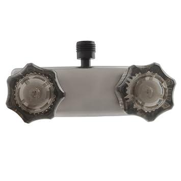 dura faucet dfsa100ssn rv shower faucet valve diverter smoked